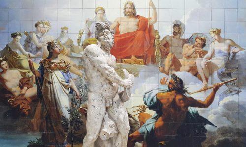 La création du monde selon la mythologie grecque