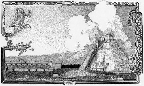La création du monde selon la mythologie Maya