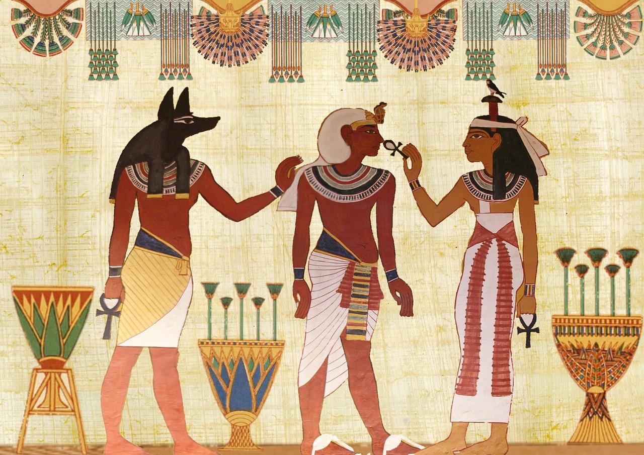 La création du monde selon la mythologie égyptienne
