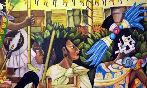 La création du monde selon la mythologie aztèque
