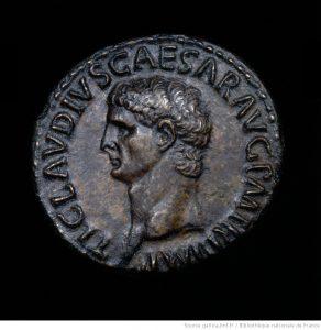 Pièce de monnaie de la Rome Antique